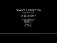 Salvador Gutierrez Trío y Leonor Leal. 11 Bordones